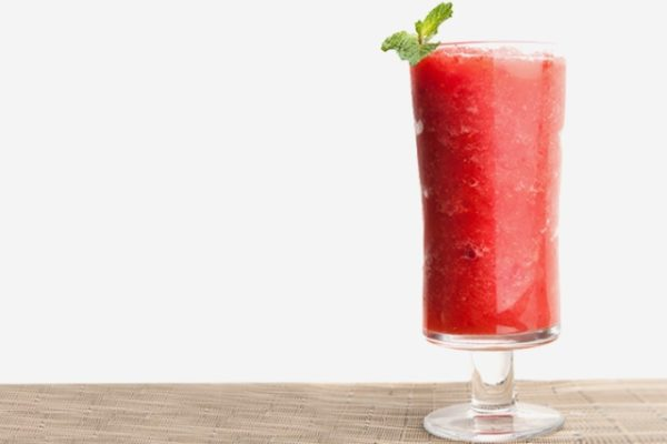 Watermelon Slush mocktail