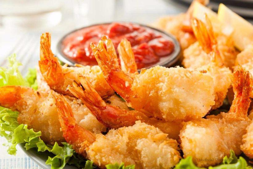 কোকোনাট শ্রিম্প ফ্রাই কিভাবে করবেন সহজে Coconut Shrimp fry আসুন জেনে নেই